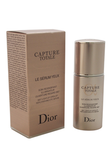 Christian Dior Capture Totale 360 Light-Up Open-Up Replenishing Eye Serum women 0.5oz