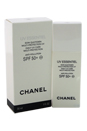 UV Essentiel Complete Sunscreen UV Protection Anti-Pollution SPF 50 by Chanel for Women - 1 oz Sunscreen