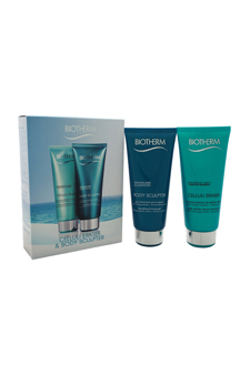 Celluli Eraser & Body Sculpter Kit by Biotherm for Women - 2 Pc Kit 6.76oz Celluli Eraser, 6.76oz Body Sculpter