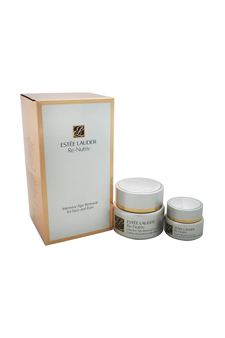 Re-Nutriv Intensive Age-Renewal for Face and Eyes by Estee Lauder for Women - 2 Pc Set 1.7oz Re-Nutriv Intensive Age-Renewal Creme, 0.5oz Re-Nutriv Intensive Age-Renewal Eye Creme