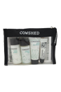 Skincare Essential Starter Kit by Cowshed for Women - 5 Pc Kit 1oz Lavender Gentle Cleanser, 1oz Chamomile Refreshing Toner, 0.68oz Quinoa Hydrating Daily Moisturiser, 0.18oz Lippy Cow Natural Lip Balm, Good Clean Fun
