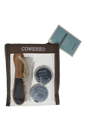 On The Hoof Pedicure Maintenance Kit by Cowshed for Women - 4 Pc Kit 0.88oz On The Hoof Reviving Foot Scrub, 0.88oz On The Hoof Healing Foot Balm, Foot File, Socks
