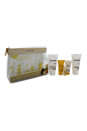 Anti-Wrinkle Starter Kit by Decleor for Women - 5 Pc Kit 1.69oz Aroma Cleanse Cleansing Mousse, 1.69oz Aroma Confort Body Milk, 0.5oz Aroma Cleanse Phytopeel Exfoliating Cream, 0.5oz Aroma Lisse SPF 15, 0.16oz Aromessence Mandarine Oil Serum
