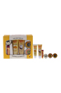 Tips & Toes Kit by Burt's Bees for Women - 6 Pc Kit 0.3oz Hand Salve, 0.25oz Almond & Milk Hand Cream, 0.3oz Lemon Butter Cuticle Cream, 0.75oz Coconut Foot Cream, 0.75oz Honey & Grapeseed Hand Cream, 0.15oz Pomegranate Moisturizing Lip Balm