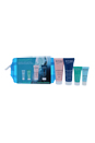 Aquasource Dry Skin Kit by Biotherm for Women - 4 Pc Kit 0.16oz Deep Serum, 0.10oz Eye Revitalizer, 0.16oz Rich Cream, 0.67oz Night Spa