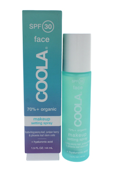 Makeup Setting Spray SPF 30 by Coola for Women - 1.5 oz Treatment