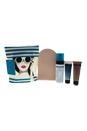 Sunshine Ready Kit by St. Tropez for Women - 5 Pc kit 4oz Self Tan Classic Bronzing Mousse, 1.69oz Gradual Tan In Shower Tanning Lotion Golden Glow Medium, 1.69oz Gradual Tan Tinted, Tan applicator mitt, St. Tropez Bag