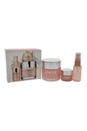 Moisture Surge Set by Clinique for Women - 3 Pc Set 4.2oz Extended Thirst Relief, 1oz Face Spray Thirsty Skin Relief, 0.5oz All About Eyes