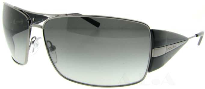 2b57eeb8fe UPC 679420192673 product image for SPR 55H 5AV-3M1 Gunmetal by Prada for  Men -