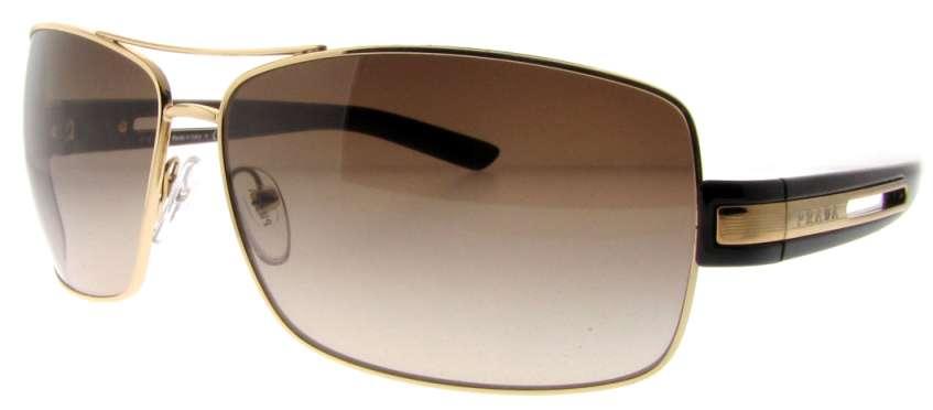 1e7bc0b75dff ... shopping spr 54i 5ak 6s1 gold brown by prada for men 64 12 125 mm  sunglasses