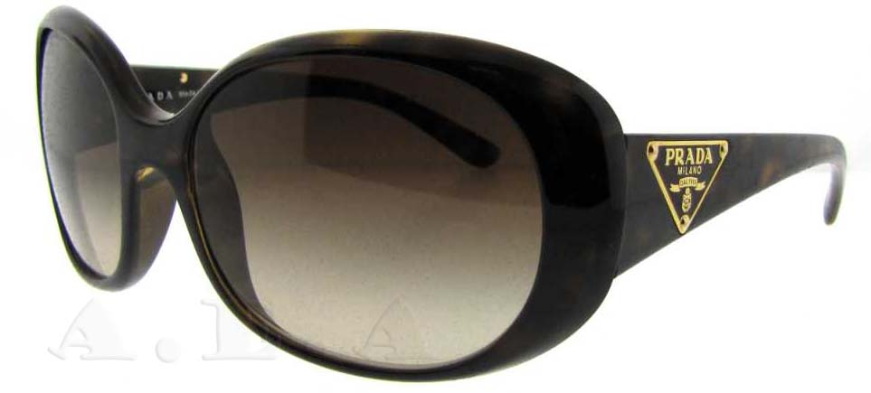 75a698ea1ebd0 PRADA Sunglasses PR 27LS 2AU6S1 Havana 57mm