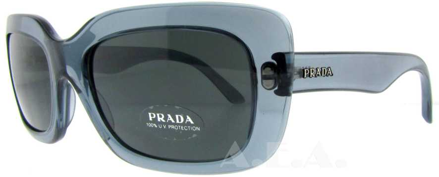 SPR 23M PD6-9K1 Clear Blue by Prada for Women - 56-18-135mm Sunglasses