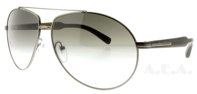 SPR 50N 5AV-4M1 Gunmetal by Prada for Unisex - 63-13-135mm Sunglasses