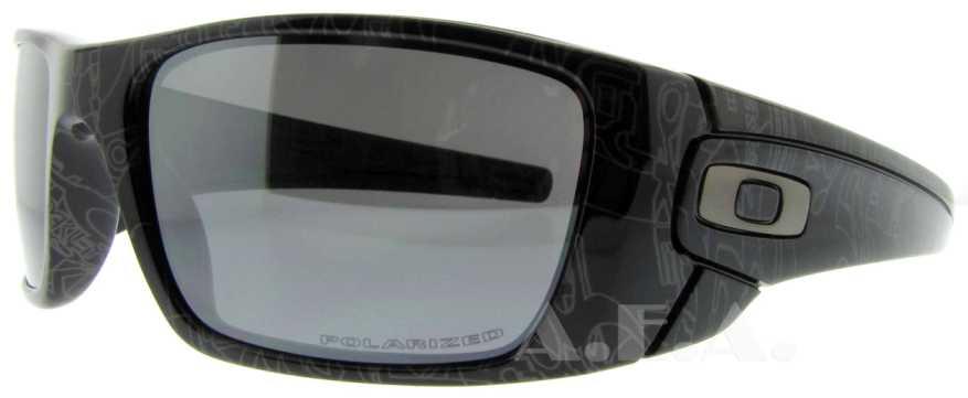 deb26e8deb Oakley Fuel Cell Polished Black Text Black Iridium Polarized Sunglasses
