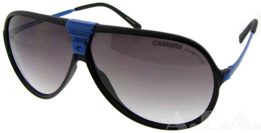 Machu/S FNS N3 Black / Blue by Carrera for Unisex - 65-7-135mm Sunglasses