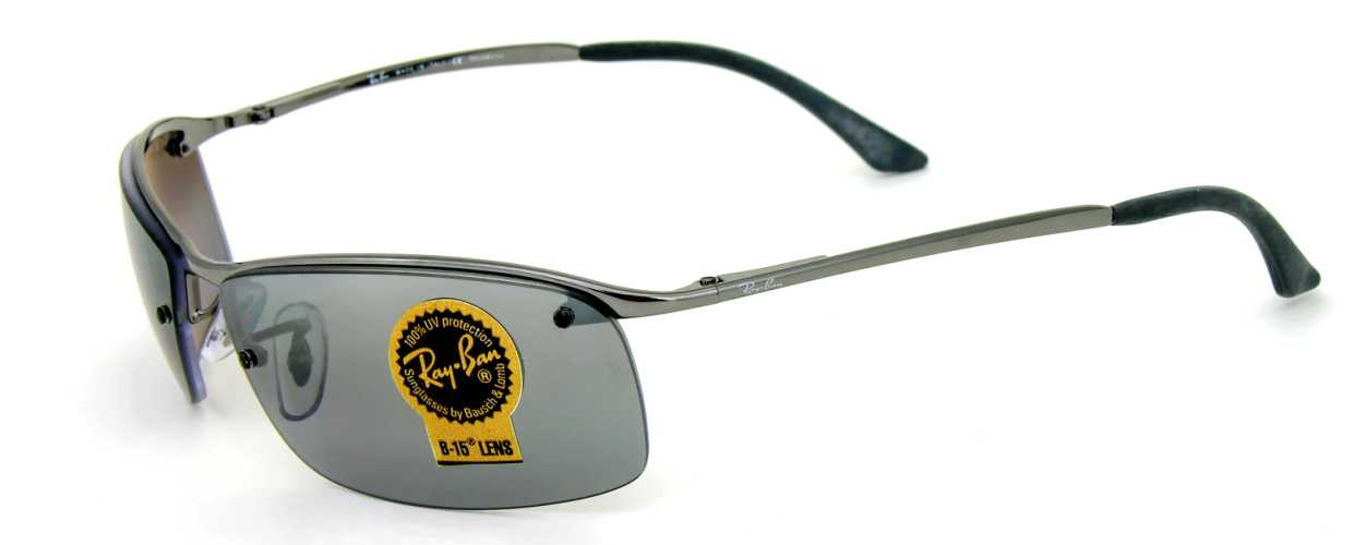 ray ban top bar polarized