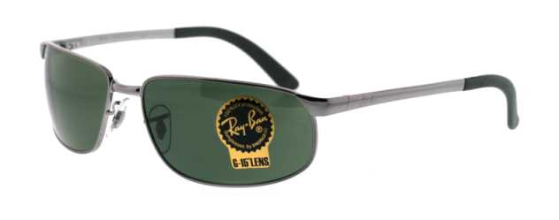 5bf542565e5c RB 3221 4 Gunmetal by Ray Ban for Men - 59-16-130mm Sunglasses ...