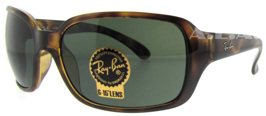 RB 4068 642 Tortoise by Ray Ban for Women - 60-17-130mm Sunglasses