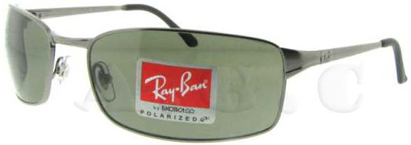 fe9d7ee1f4344 RB 3269 004 58 Gunmetal by Ray Ban for Unisex - 63-18-125 mm Sunglasses