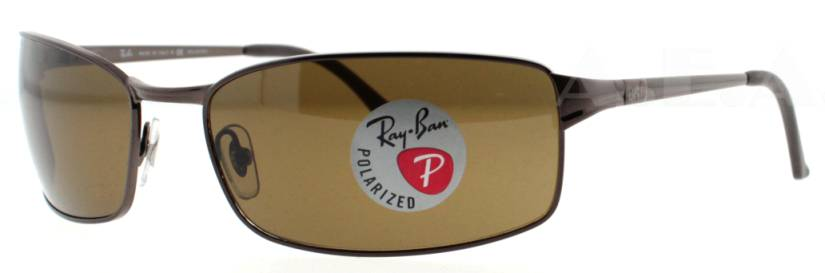 af5d203d05 Ray Ban RB3269 Sunglasses - 014 57 Brown (Crystal Brown Polarized Lens) -  63mm