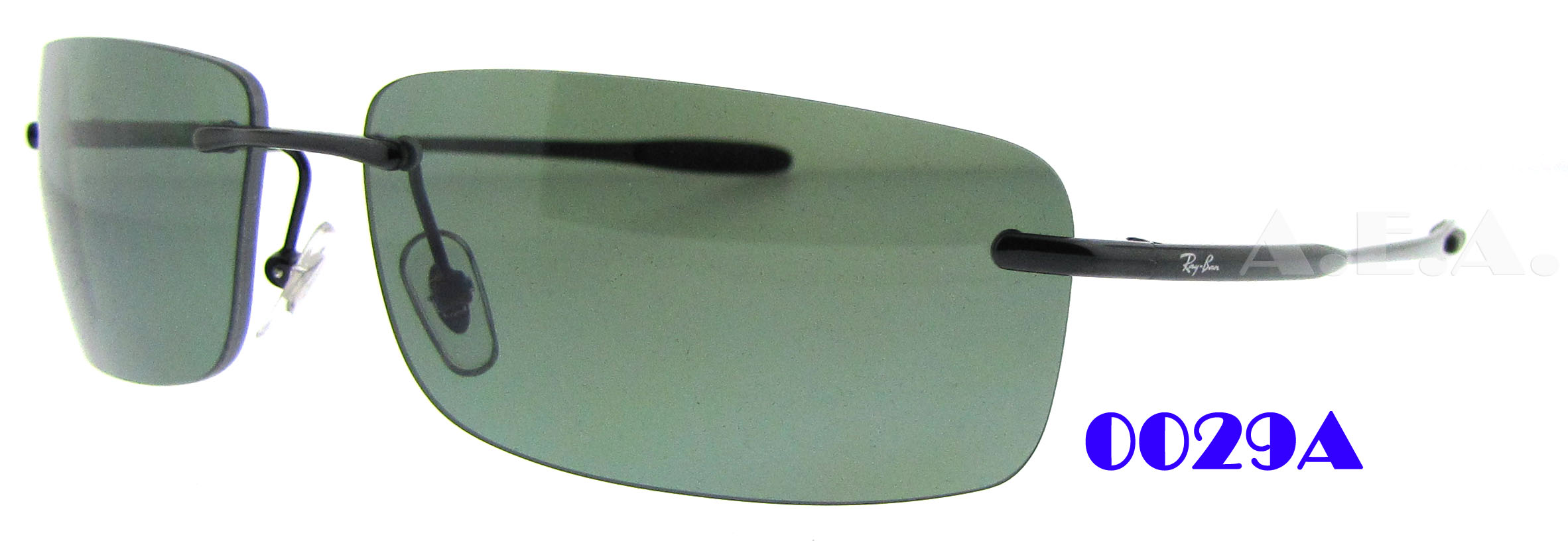 ray ban 3344  rb 3344 002/9a black by ray ban for men 61 14 130mm sunglasses