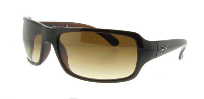 cc1cdb0f39c ... Sunglasses UPC 805289203087 product image for RB 4075 714 51 Brown by Ray  Ban for Unisex