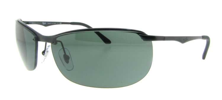 RB 3385 2 Black by Ray Ban for Men - 59-17-135 mm Sunglasses