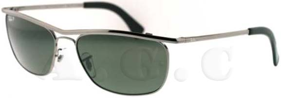 RB 3385 004/58 Gunmetal by Ray Ban for Men - 59-17-135 mm Sunglasses
