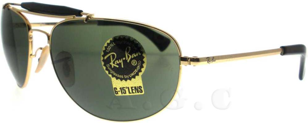RB 3423 1 Arista by Ray Ban for Men - 60-17-130 mm Sunglasses