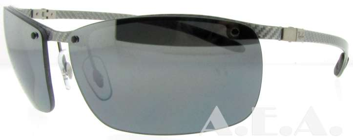 rb8306  UPC 805289408956 - RB 8306 083/82 Light Grey Carbon Fiber by Ray ...