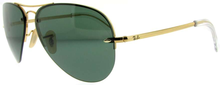 5e90e15a17f Ray Ban RB3449 Sunglasses - 001 71 Arista (Gray Green Lens) - 59mm