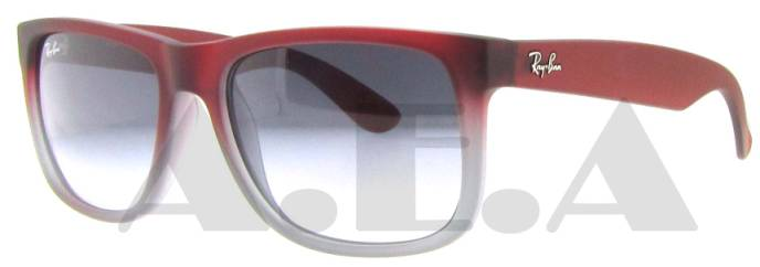 RB 4165 856/11 Red Rubber by Ray Ban for Men - 55-16-145 mm Sunglasses