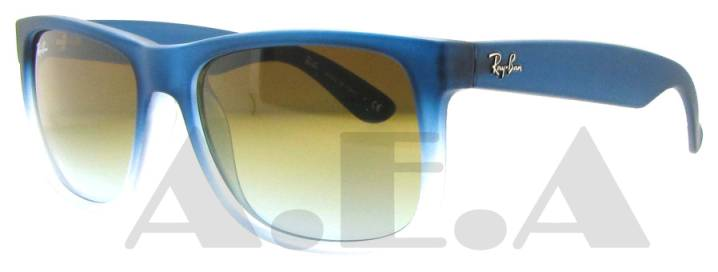 RB 4165 853/5D Blue Rubber by Ray Ban for Men - 55-16-145 mm Sunglasses