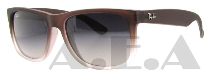 RB 4165 855/8G Brown Rubber by Ray Ban for Men - 55-16-145 mm Sunglasses