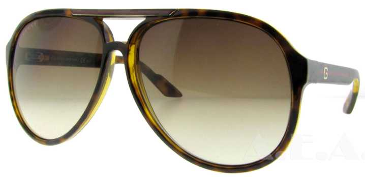 GG 1627/S 791 Havana by Gucci for Unisex - 59-12-130 mm Sunglasses
