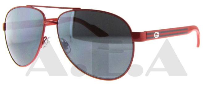d2efd4bb0e80 Gucci 2898 S Sunglasses-In Color-Red dark gray mirror