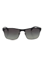 Prada PR 51OS FAD3M1 Black/Grey by Prada for Men - 57-17-140 mm Sunglasses