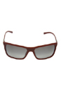 Prada PR 16OS JAC3M1 Bordeaux/Gray by Prada for Men - 59-17-135 mm Sunglasses