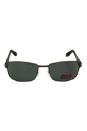 Carrera Carrera 8004 27HY2 - Dark Ruthenium Black Polarized by Carrera for Men - 62-18-130 mm Sunglasses