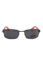 Carrera Carrera 8004 0RRTD - Dark Ruthenium Blue Polarized by Carrera for Men - 62-18-130 mm Sunglasses