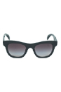 Prada PR 04Q 1BO0A7 - Matte Black/Gray Gradient by Prada for Men - 52-21-145 mm Sunglasses