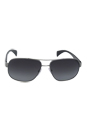Prada SPR 52P 5AV5W1 - Gunmetal Polarized by Prada for Men - 61-15-140 mm Sunglasses