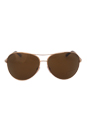 Tom Ford FT0035 Charles 28H - Shiny Rose Gold Polarized by Tom Ford for Men - 62-12-130 mm Sunglasses