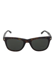 Tom Ford FT0336 Leo 56R - Classic Havana Polarized by Tom Ford for Men - 52-21-145 mm Sunglasses