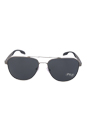 Prada PR 51RS 7CQ5Z1 - Matte Gunmetal Polarized by Prada for Men - 60-16-145 mm Sunglasses
