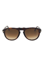 Persol PO0649 24/51 - Havana/Brown Faded by Persol for Men - 52-20-135 mm Sunglasses