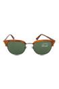 Persol PO3105S 96/4E - Terra Di Siena/Green by Persol for Men - 51-20-145 mm Sunglasses
