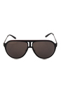 Carrera Carrera 100/S HKQNR - Black Ruthenium by Carrera for Men - 59-12-135 mm Sunglasses