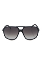 Gucci GG 1091/S D28N6 - Shiny Black by Gucci for Men - 60-15-140 mm Sunglasses