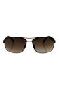 Gucci GG 2234/S 8EJHA - Semi Matte Brown by Gucci for Men - 63-14-130 mm Sunglasses